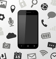 Smartphone applications vector image