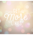 background with slogan for social networking vector image