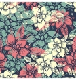 Boho floral seamless pattern vector image vector image