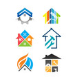 house renovation service icon vector image vector image