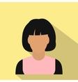 woman avatar symbol vector image