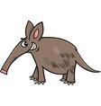 aardvark animal cartoon vector image vector image