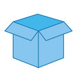 box isolated icon vector image vector image