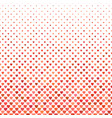 repeating red heart background pattern vector image vector image