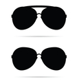sunglasses black vector image vector image