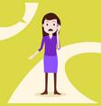 teen girl character sad phone call female template vector image vector image