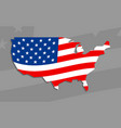 america country flag icon vector image vector image