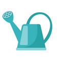 blue watering can cartoon vector image vector image