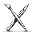 brush and pencil artist tools