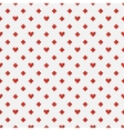 Red poker seamless pattern vector image vector image