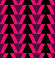 seamless pattern background triangle retro vintag vector image vector image