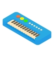 Synthesizer toy icon cartoon style vector image vector image
