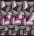 abstract background with ornament of threads vector image