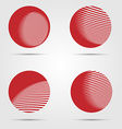 Abstract business icon collection vector image