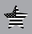 american star icon vector image vector image
