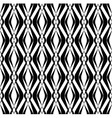 Black and white seamless pattern modern stylish vector image vector image