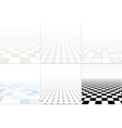 Collection of abstract copyspace backgrounds vector image vector image