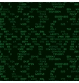 Green security background with HEX-code vector image vector image