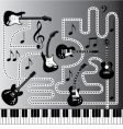 music machine vector image vector image