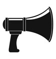 noise of megaphone icon simple style vector image