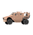 nursery military car drawing army truck vector image vector image