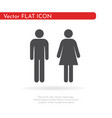 toilet icon for web business finance and vector image
