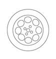 video film icon design vector image