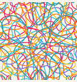 colorful scribble pattern vector image
