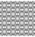 Design seamless monochrome latticed pattern vector image vector image