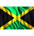 Flag of Jamaica Aspect Ratio 2 to 3 vector image vector image