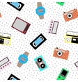 Memphis hipster pattern - seamless vector image vector image