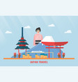 thailand udonthani - 07 august 2018 japan vector image