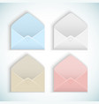 valentines day envelopes vector image