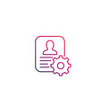 account settings icon linear