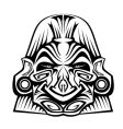 ancient mask vector image vector image
