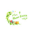 design easter banner vector image