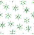 fir star green seamless vector image vector image