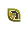 landscape design logo design template vector image