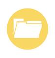 office folder symbol vector image