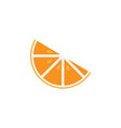 orange fruit clip art graphic design template vector image vector image