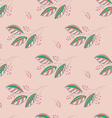 Seamless Botanical Pattern vector image vector image