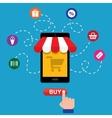 smartphone shop vector image