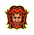 baldr norse god mascot vector image vector image