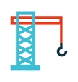 crane hook service icon vector image