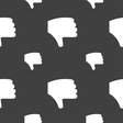 Dislike Thumb down Hand finger down icon sign vector image vector image