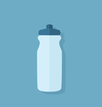 Sport water bottle vector image
