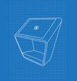 Blueprint of promotional information kiosk