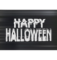 Happy Halloween photocopy vector image vector image