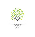 tree clip art graphic design template isolated vector image vector image