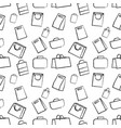 hand drawn doodle sketch seamless vector image